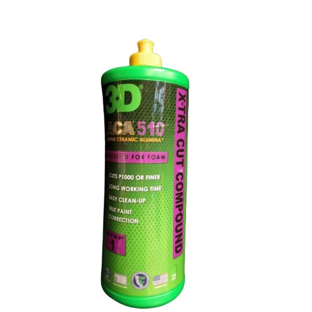 3D ACA® 510 X-TRA CUT COMPOUND™ 946 ML Carhub