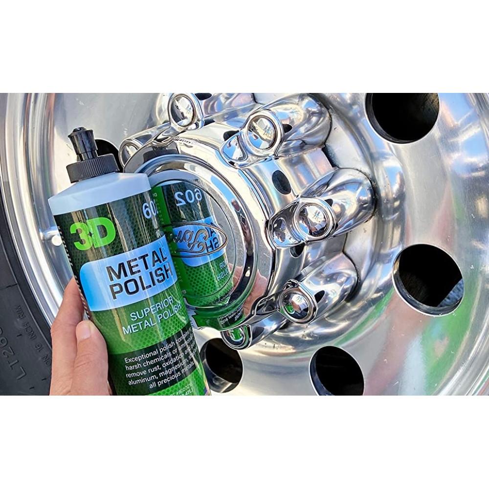 3D DEEP BLUE METAL POLISH 480 ml Carhub_2
