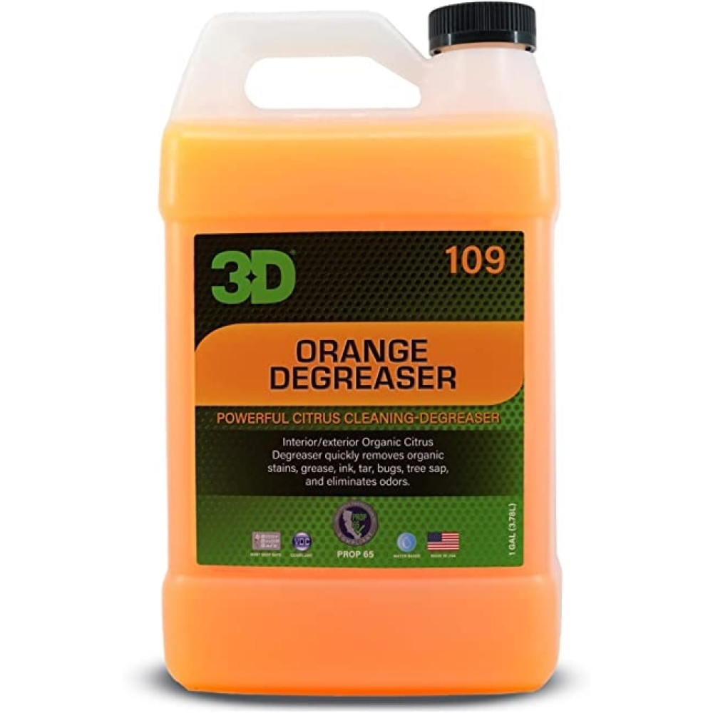 3D ORANGE CITRUS DEGREASER 3.8L 109G01