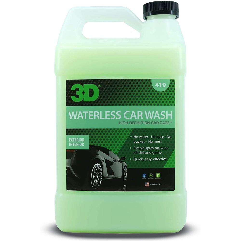 Solutie pentru spalarea masinii fara apa 3D Waterless Car Wash 3.78L