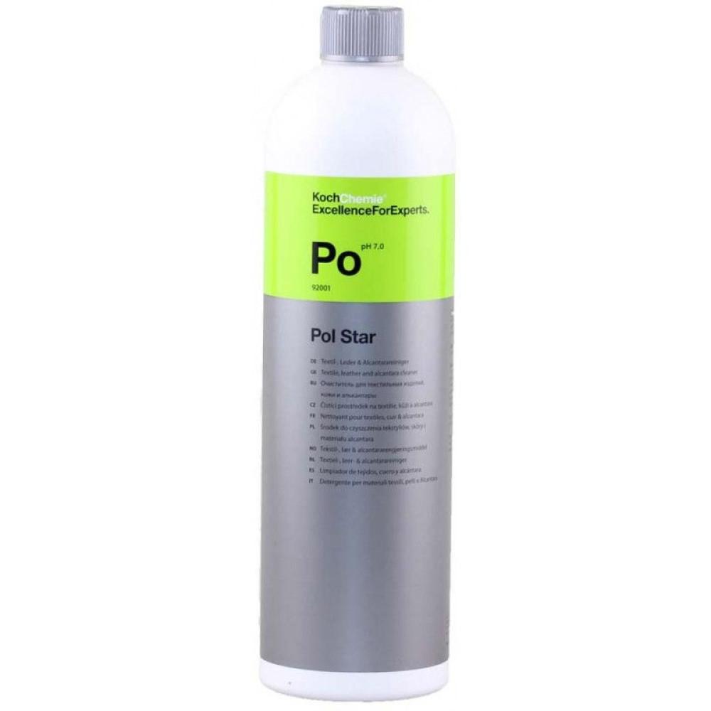 Pol Star-Po, soluție pentru curățare textile, piele și alcantara 1L 92001