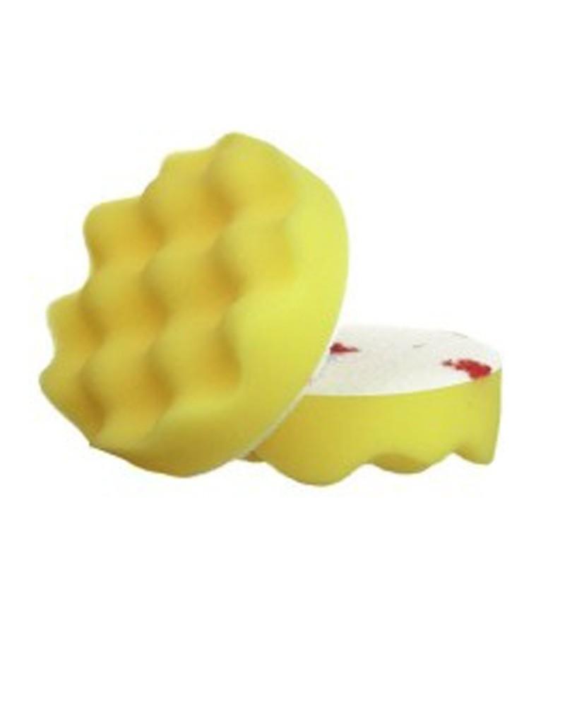 Burete valurit galben polish mediu 3M Perfect-It III 75mm 50536 Carhub