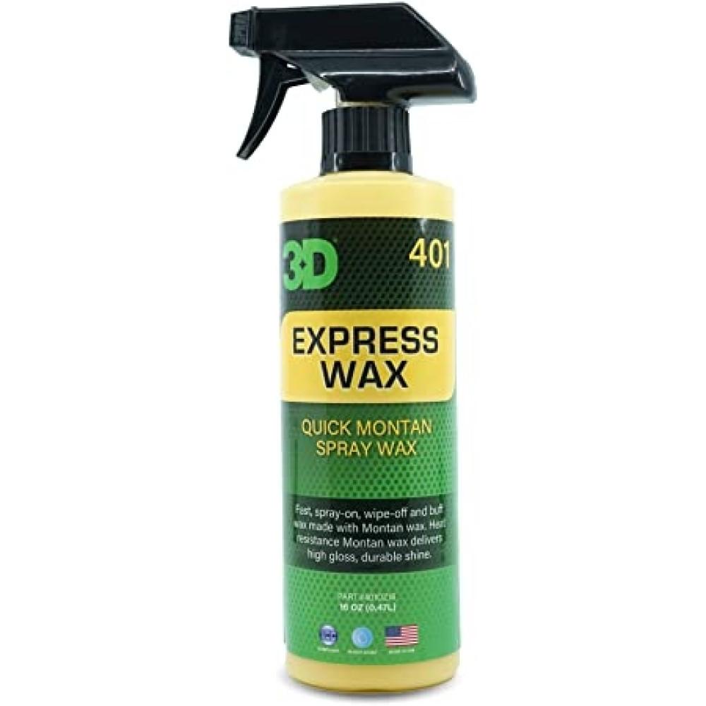 Ceara lichida rapida one step 3D Express Wax 473ml Carhub