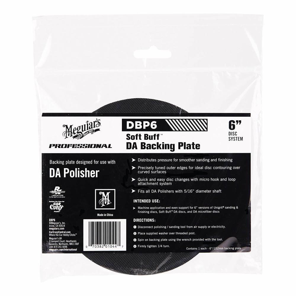 "Taler masina de polishat - DA Backing Plate 6"" Meguiar's"