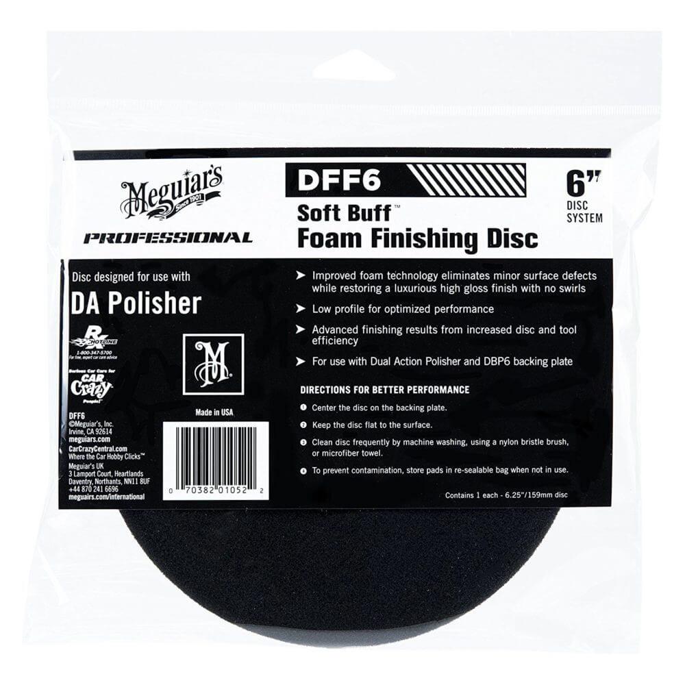 "Burete polish finisare - DA Foam Finishing disc 6"" Meguiar's DFF6"