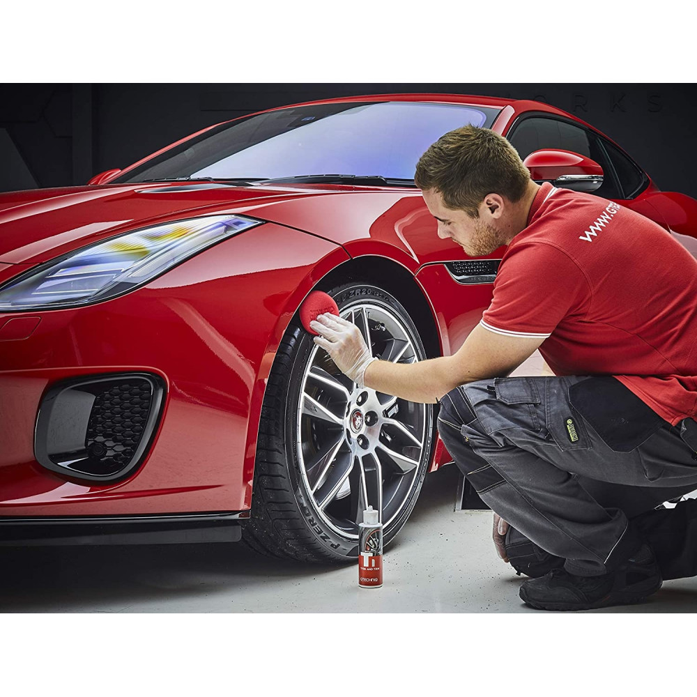 DRESSING ANVELOPE SI BANDOURI T1 Tyre and Trim Gtechniq 250ML Carhub_3