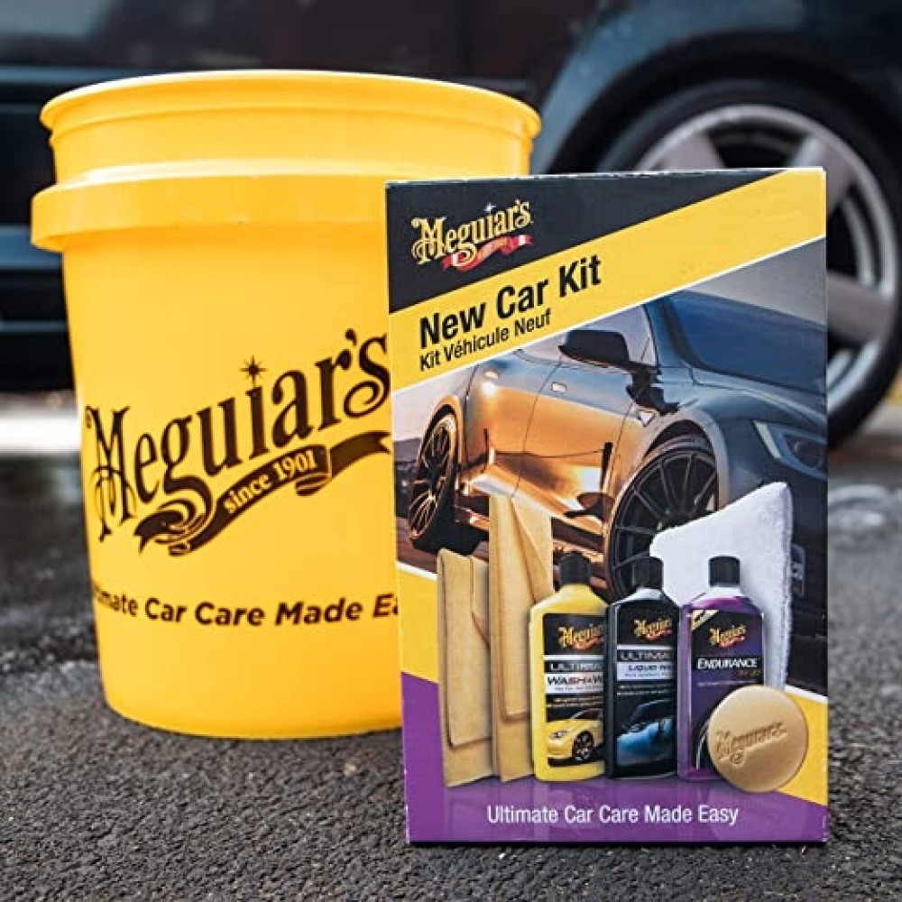 KIT INTRETINERE MASINA NOUA MEGUIAR'S BRILLIANT SOLUTIONS NEW CAR KIT G3201EU