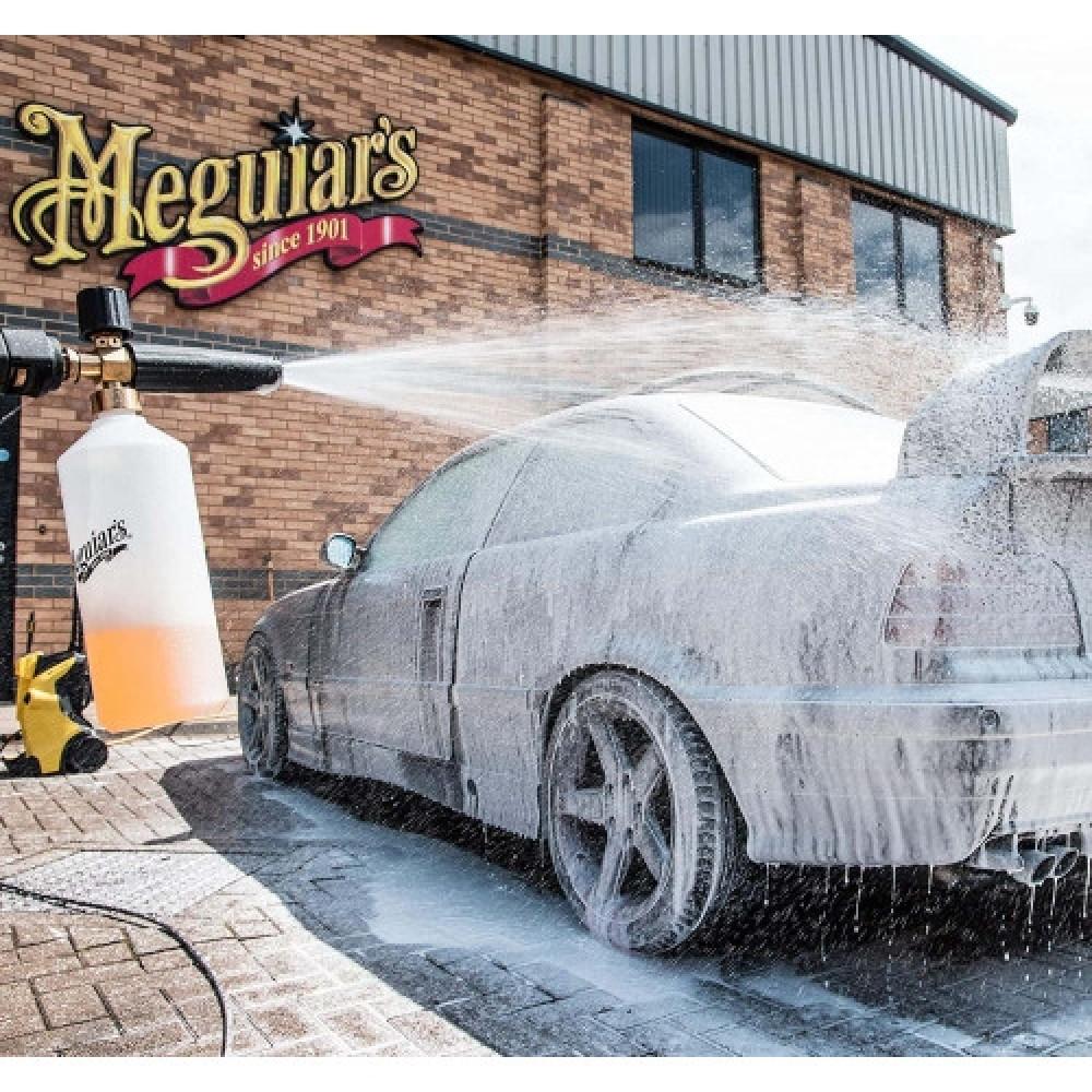 KIT SPALARE AUTO MEGUIAR'S CAR WASH SNOW CANNON KIT G192000EU Carhub