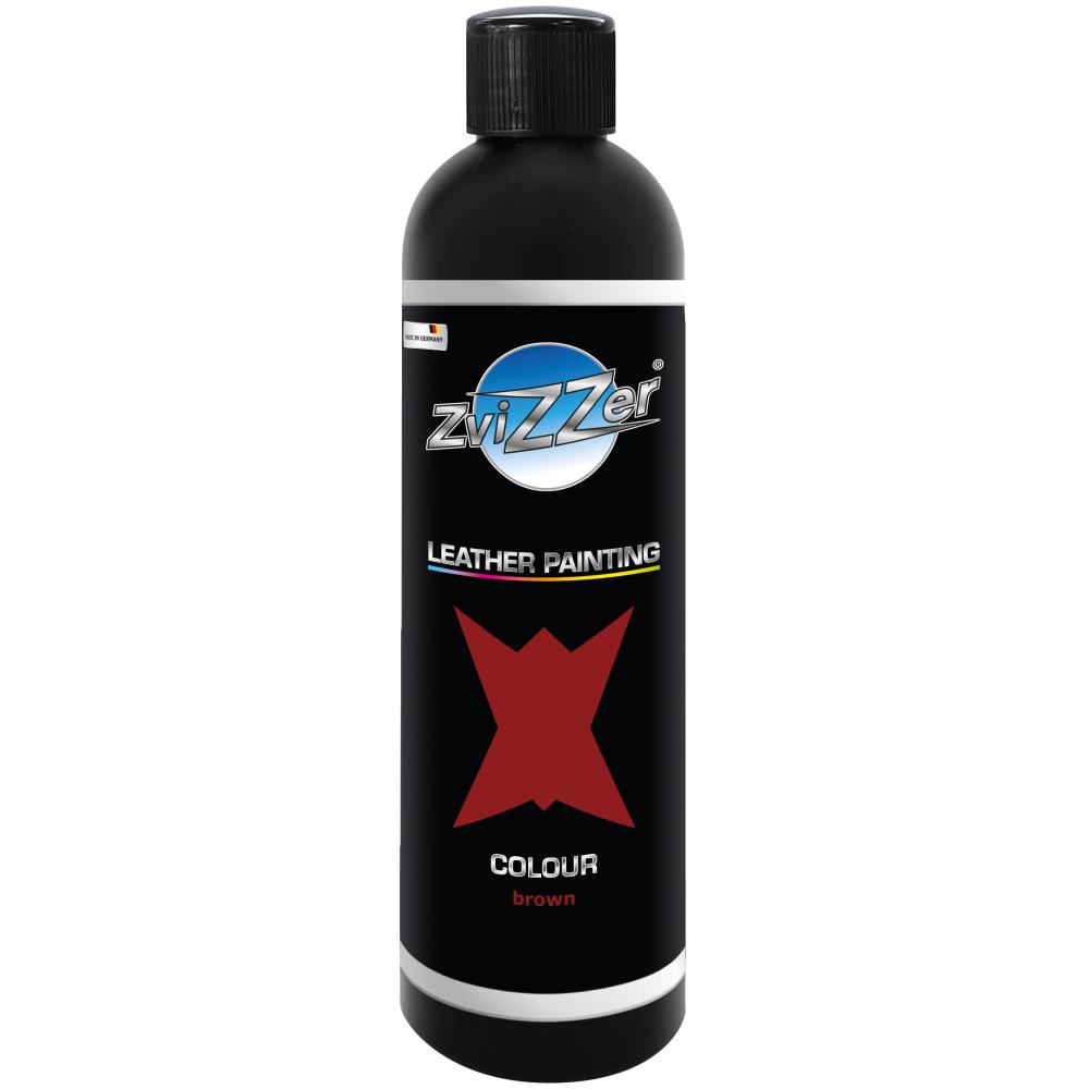 Vopsea pentru piele - Pigment maro-250 ml-250 ml