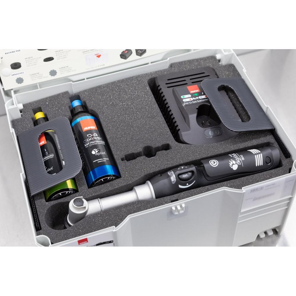 Masina de polishat cu gat lung Rupes Bigfoot Nano iBrid Kit Deluxe, valiza plastic Carhub_2