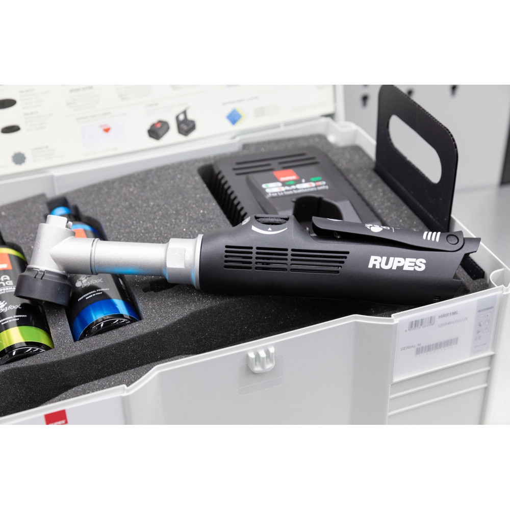 Masina de polishat cu gat lung Rupes Bigfoot Nano iBrid Kit Deluxe, valiza plastic Carhub_3