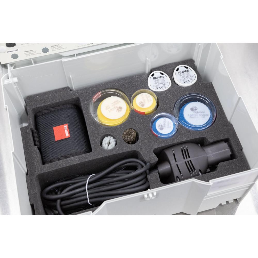 Masina de polishat cu gat lung Rupes Bigfoot Nano iBrid Kit Deluxe, valiza plastic Carhub_4