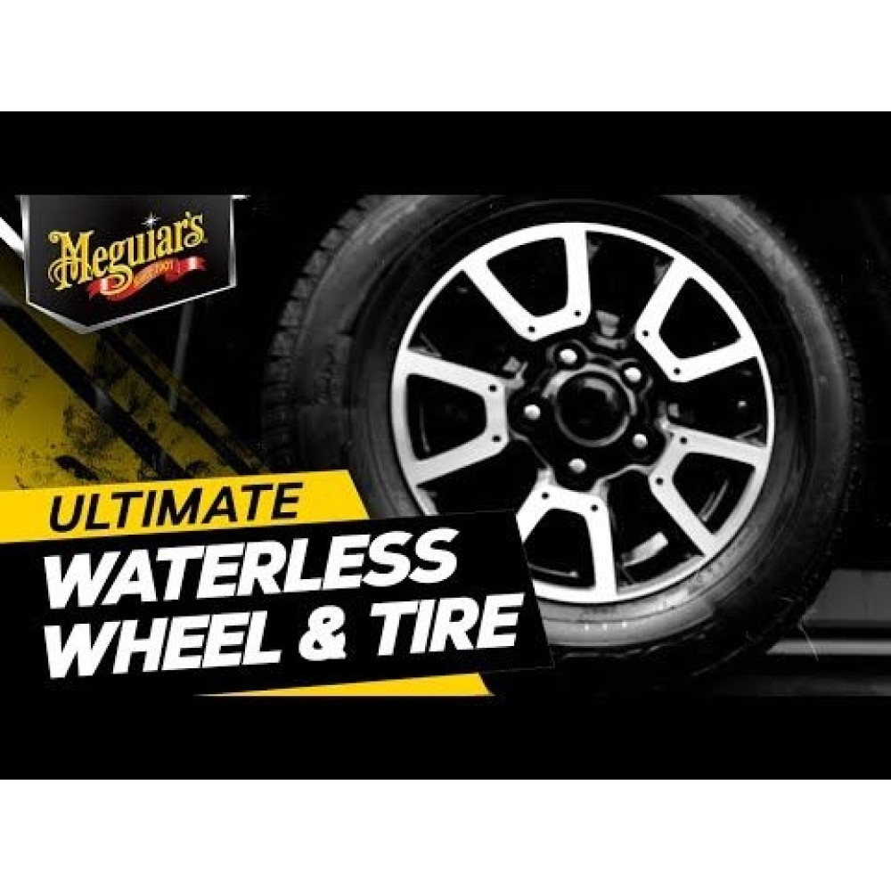 MEGUIAR'S ULTIMATE WATERLESS WHEEL & TIRE, SOLUTIE CURATARE JANTE SI ANVELOPE