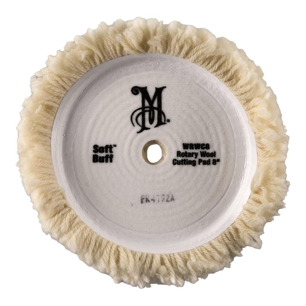 "Blana de oaie pentru polishat cu masina rotativa - Soft Buff Rotary Wool Pad 8"" Meguiar's WRWC8"