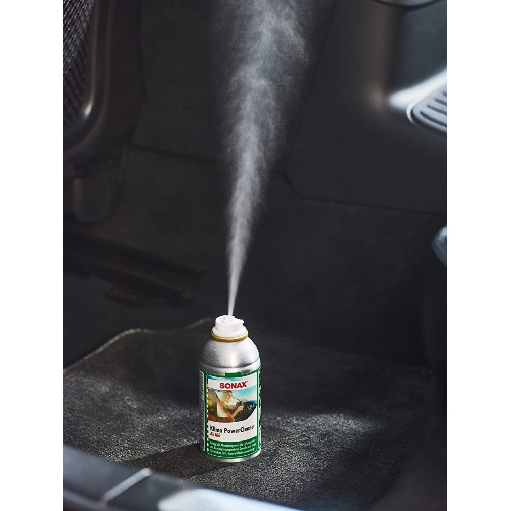ODORIZANT AUTO SONAX KLIMA POWER CLEANER GREEN LEMON 100ML, 323400 Carhub_1