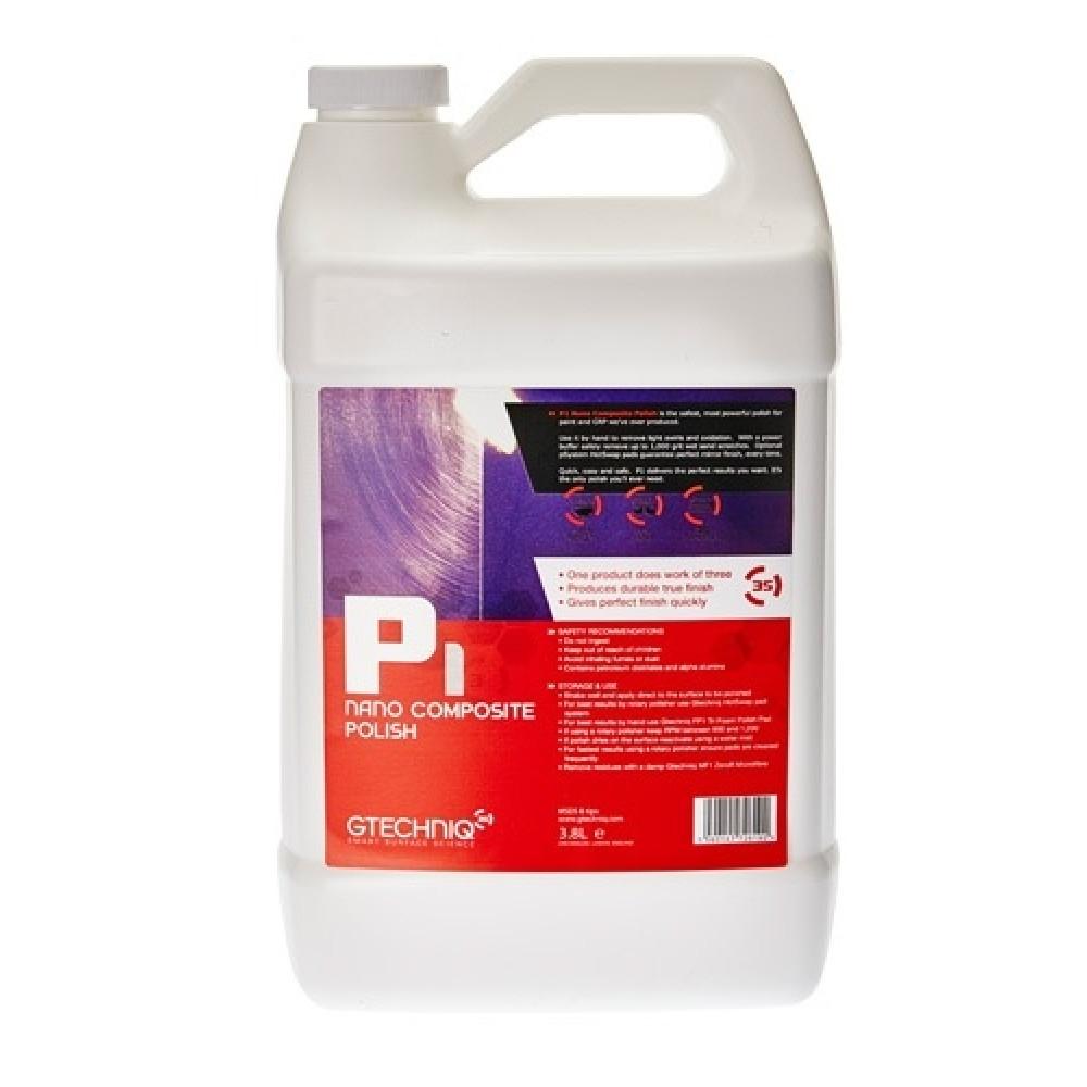 p1 nano composite, polish auto, gtechniq