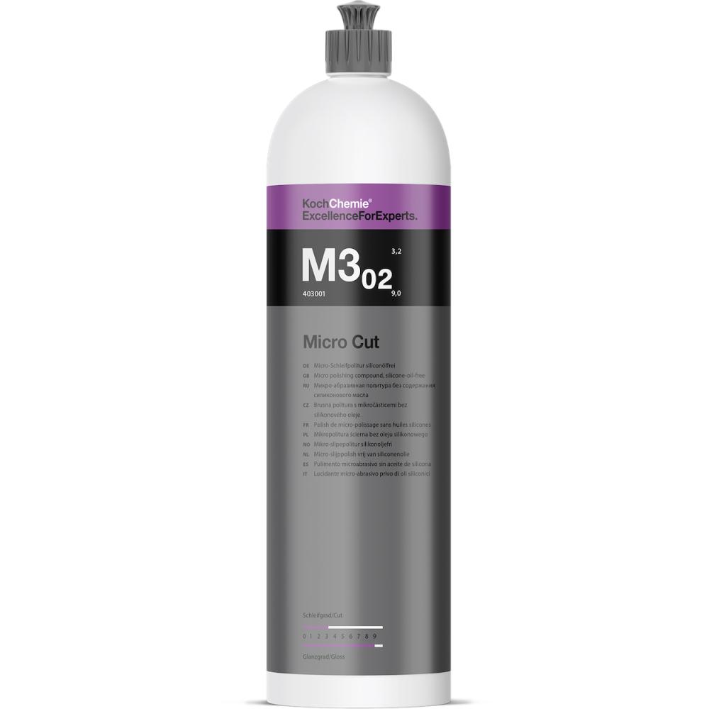 Pasta polish finish cu protectie carnauba - Koch Chemie M3.02 - 1L