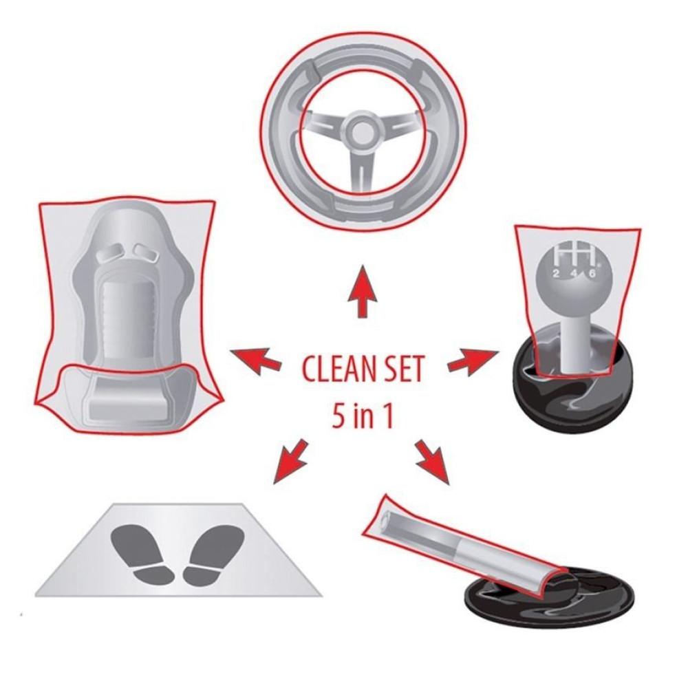 Set complet protectie Clean Set 5:1