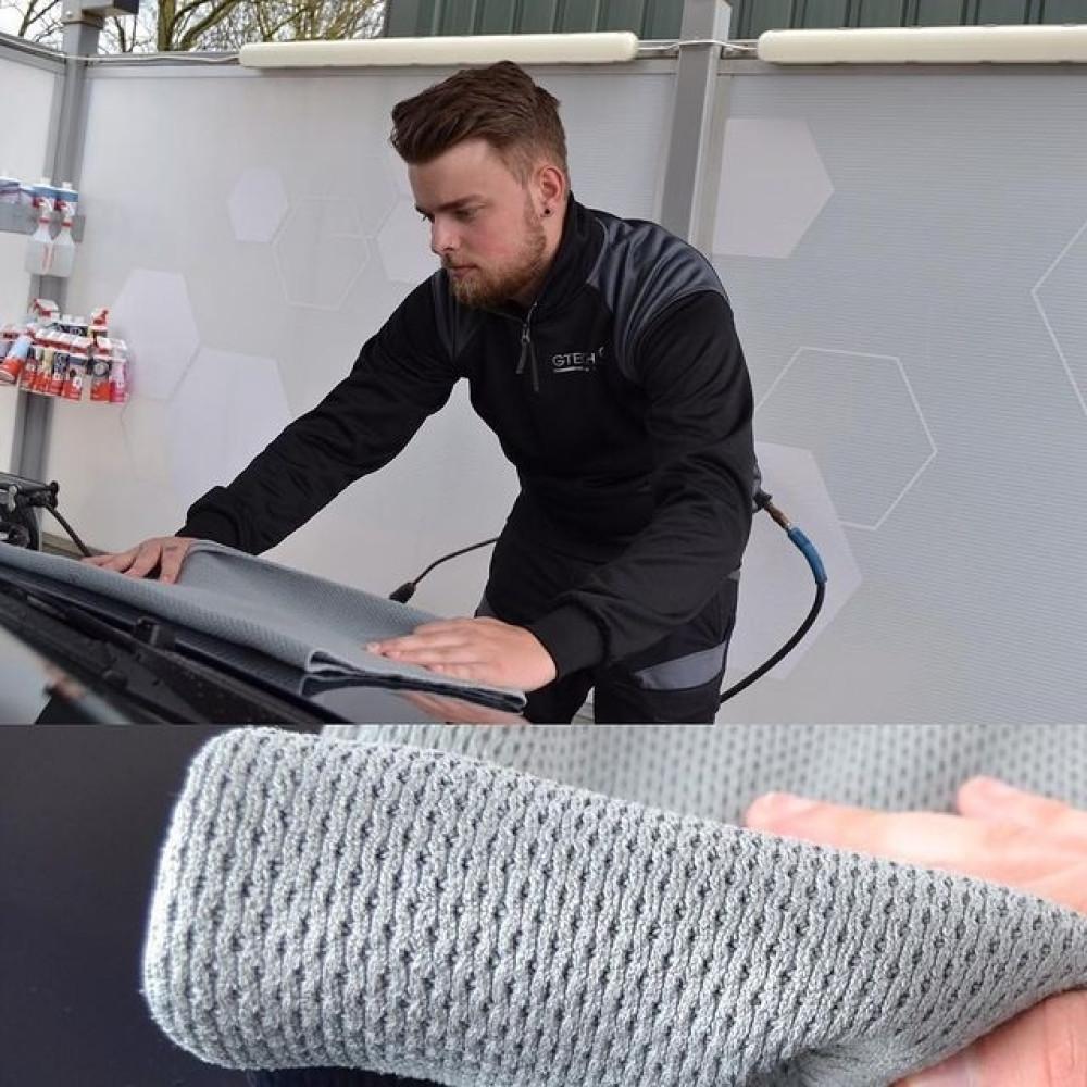 PROSOP PENTRU USCARE DIN MICROFIBRA Gtechniq MF4 Diamond Sandwich Microfibre Drying Towel Carhub_3