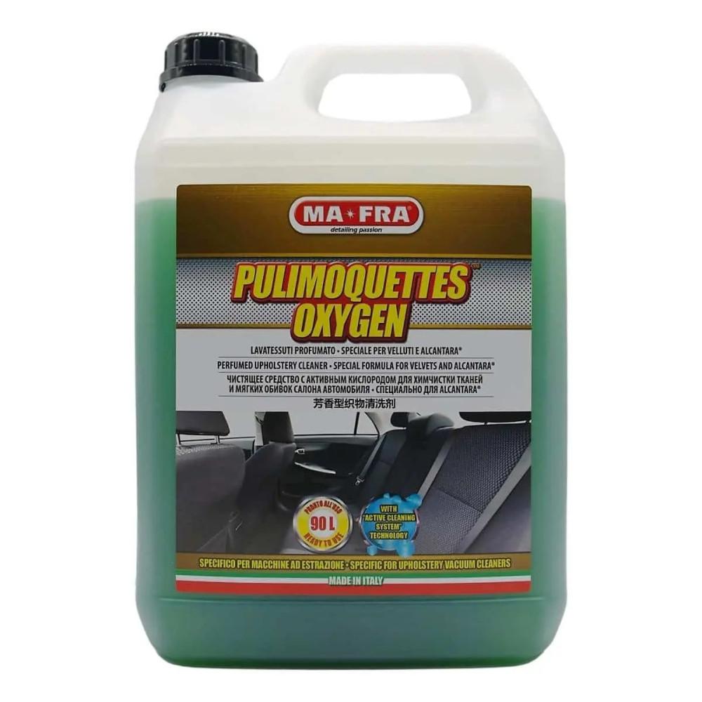 Solutie pentru curatare tesaturi Ma-Fra Pulimoquettes Oxygen 4.5L Carhub