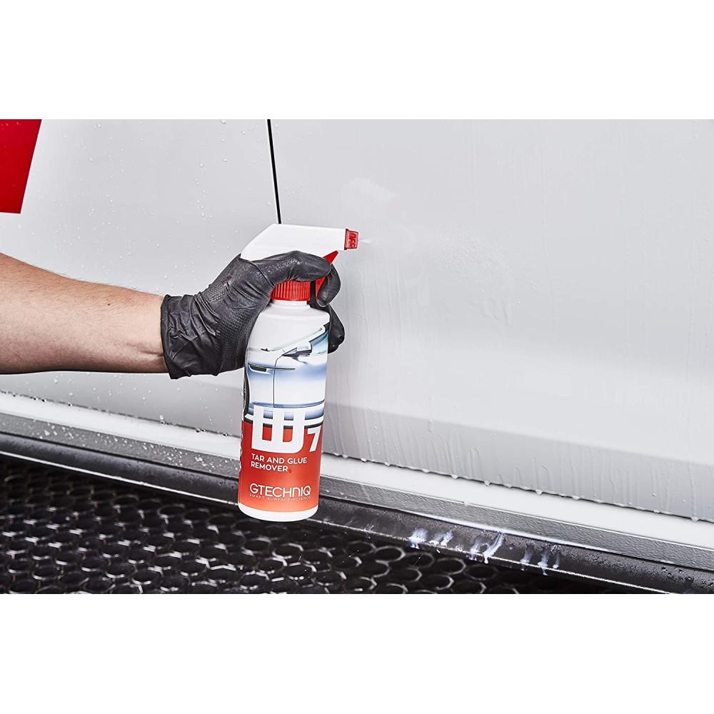 SOLUTIE PENTRU INDEPARTAT BITUM SI ADEZIV W7 Tar and Glue Remover Gtechniq 500ML Carhub_1