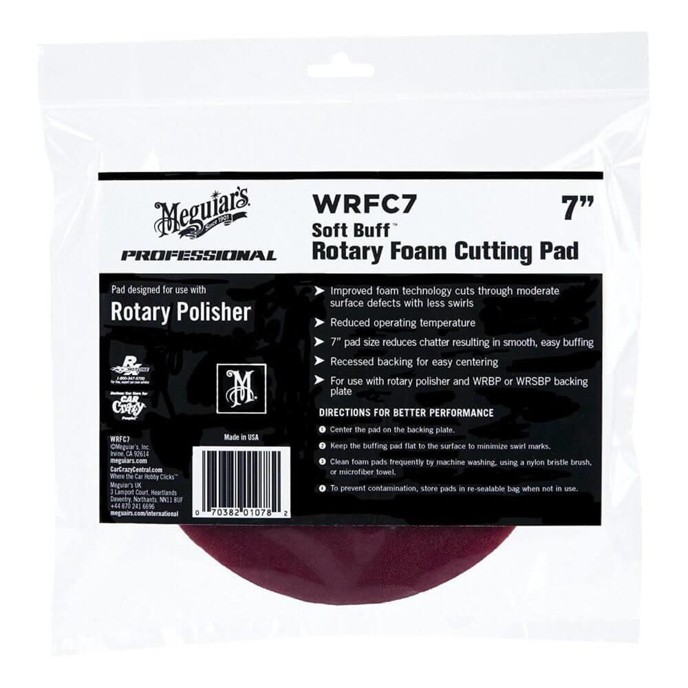 "Burete polish pentru taiere - Rotary Foam Cutting Pad 7"" WRFC7"
