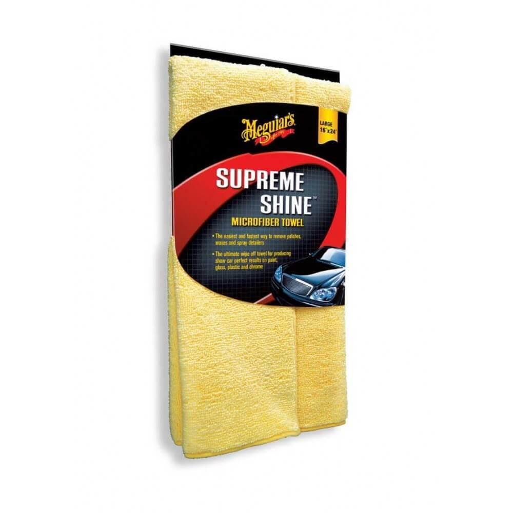 3x prosop microfibra 40x60cm - Supreme shine microfiber towel Meguiar's