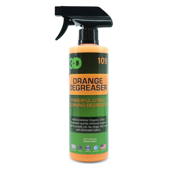 3D ORANGE CITRUS DEGREASER 476ML 109OZ24 Carhub