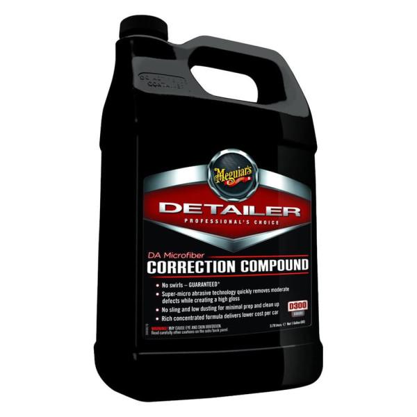 D30001 Pasta polish abraziva 3.79L- DA Microfiber Correction Compound Meguiar's