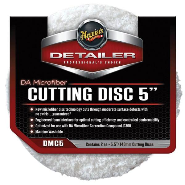 "2x Pad polish abraziv microfibra - DA Microfiber Cutting Pad 5"" Meguiar's DMC5"