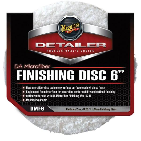 """2x Pad Microfibra - DA Microfiber Finishing Pad 6"""" Meguiar's DMF6"""