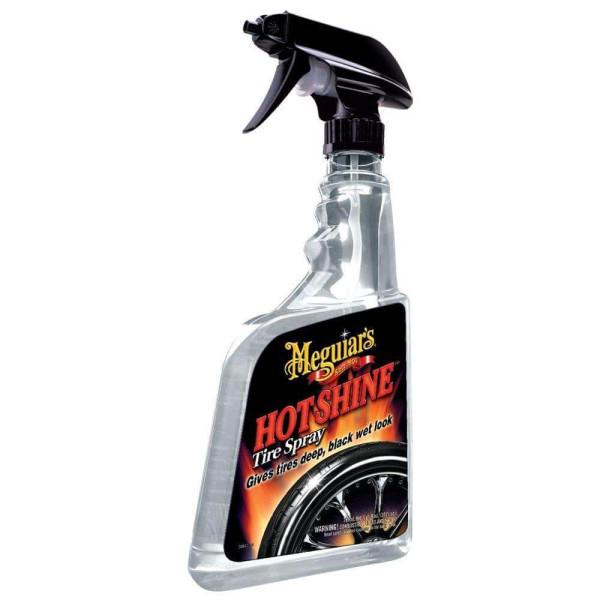 Solutie luciu anvelope- Hot Shine Tire Spray Meguiar's