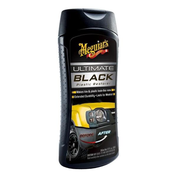 Dressing auto pentru plastic - Ultimate Black Meguiar's