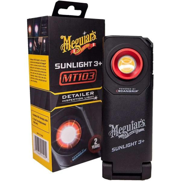 Lampa control si inspectie vopsea Scangrip Sunlight 3+ Meguiar's Carhub