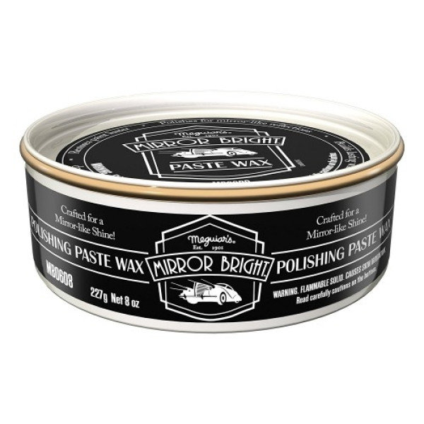 CEARA AUTO MEGUIAR'S MIRROR BRIGHT POLISHING PASTE WAX MB0608