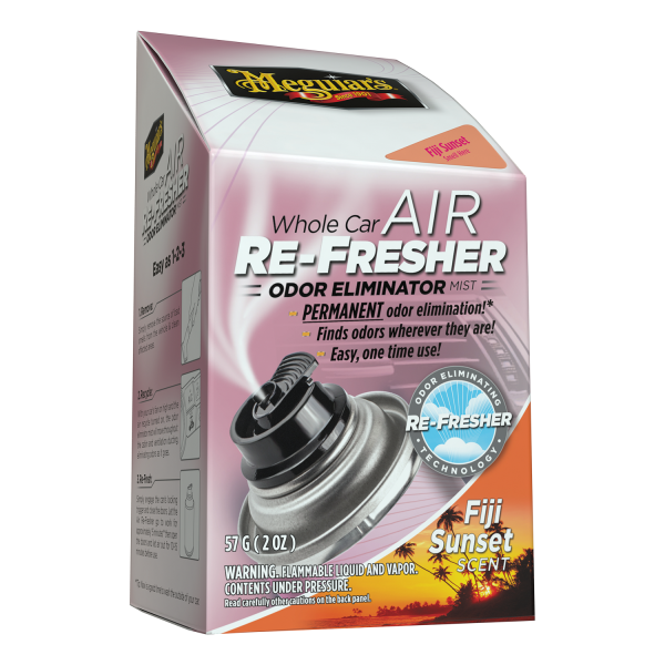 Meguiar's Whole Car Air Re-Fresher Odor Eliminator – Fiji Sunset Scent – G201502 Carhub