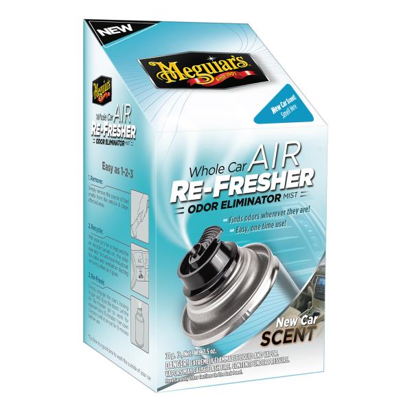 Meguiar's Whole Car Air Re-Fresher Odor Eliminator Mist - New Car Scent, G16402 Carhub