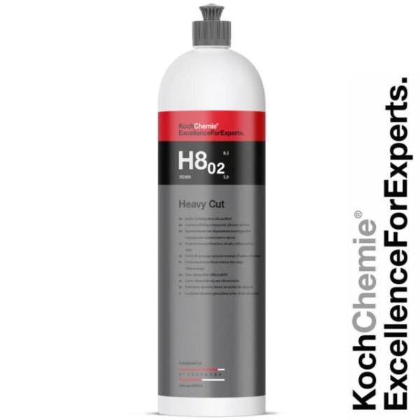 Pasta polish abraziva 2- Heavy cut compound H8.02 - Koch Chemie-1 L 312001