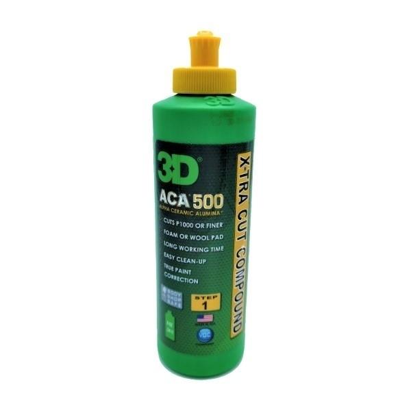 Pasta polish abraziva 3D ACA 500 X-Tra Cut Compound 236ml Carhub