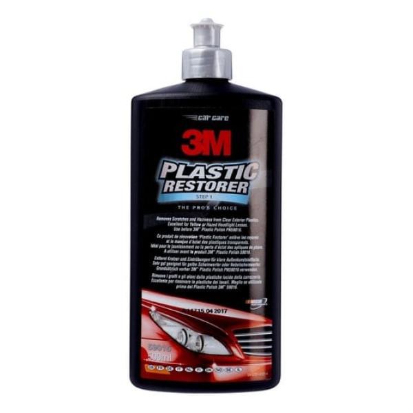 Pasta polish abraziva faruri 3M Plastic restorer 500ml 59015 Carhub