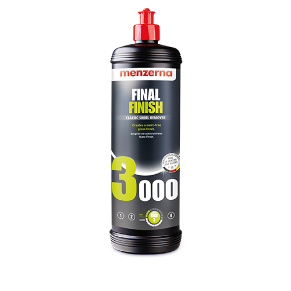 Pasta polish de finisare Menzerna Final Finish 3000, 1L Carhub