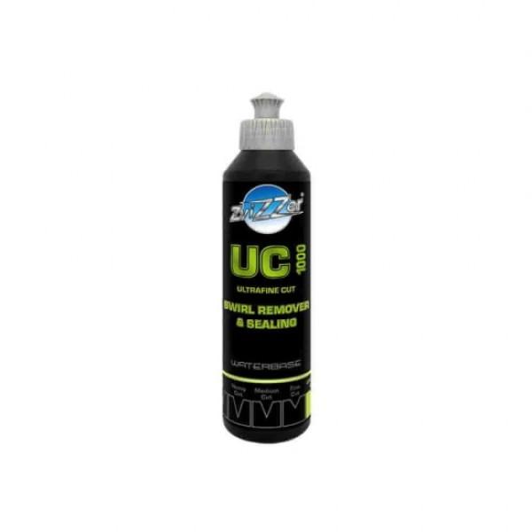 Pasta polish ultrafina cu emulsie ceramica UC1000 Ultrafine Cut Swirl Remover and Sealing ZviZZer 250ml Carhub