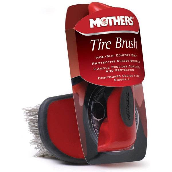 Perie curatare anvelope Mothers Contoured Tire Brush Carhub.jpg