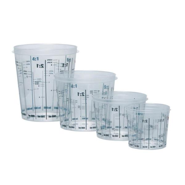 Pahar de plastic gradat