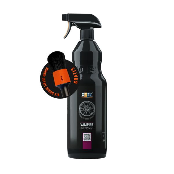 Set PROMO decontaminare jante ADBL VAMPIRE 1L + Pensula detailing 31MM Carhub
