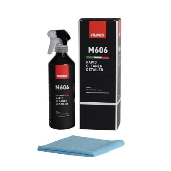 Solutie curatare si detailing rapid M606 Rupes Rapid Cleaner Detailer 500ml Carhub