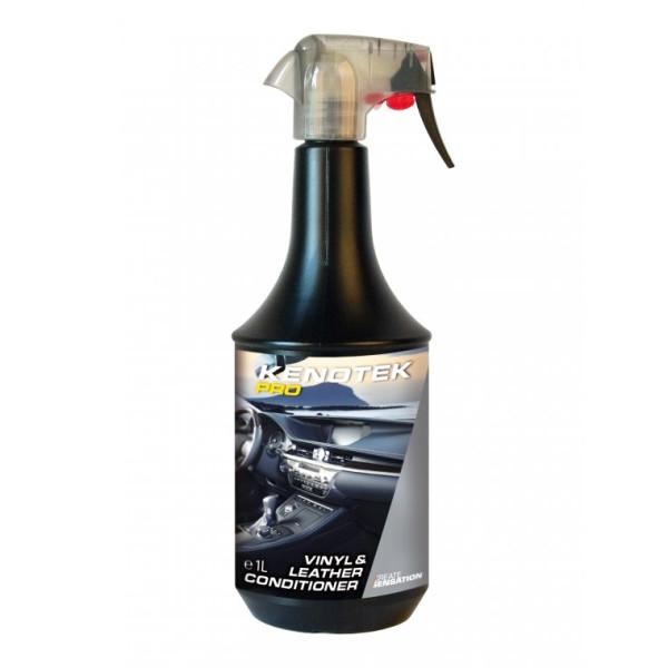 Solutie hidratare vinil & piele 1L,  Vinyl & leather conditioner Kenotek Carhub