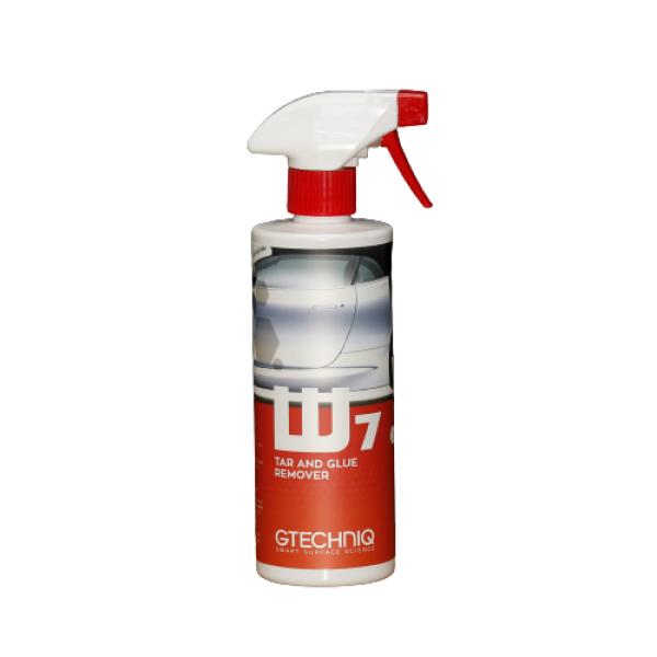 SOLUTIE PENTRU INDEPARTAT BITUM SI ADEZIV W7 Tar and Glue Remover Gtechniq 500ML Carhub