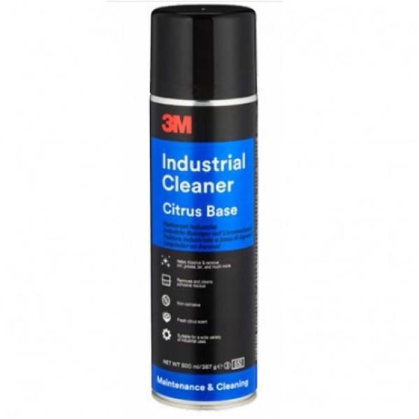 Spray indepartare adeziv si bitum 3M Industrial Cleaner Citrus Base, 500ml Carhub
