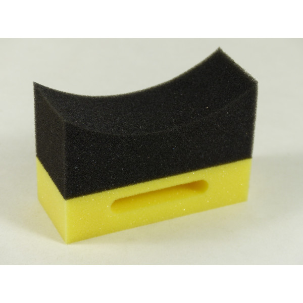 Burete aplicator pentru anvelope galben & negru